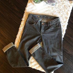 Farmer jeans Raw Denim Grey Slim Jeans
